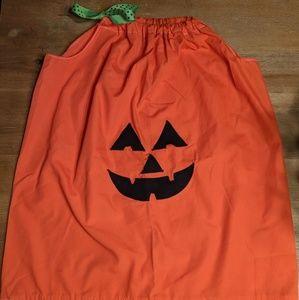 Other - FREE Pumpkin Halloween dress 7 8 fall orange black